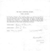 Image of Brownell, Elizabeth R. (Dr.) - Oral History