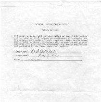 Image of Cedargreen, Irving Harold (Sid) - Oral History