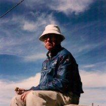 Image of Bob James, leader of Tubac hiking group - Kinsley Arcadia Photo Collection