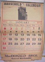 Image of 2004.025.0044 - Calendar