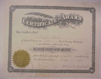 Image of 2004.025.0070 - Certificate, Attendance