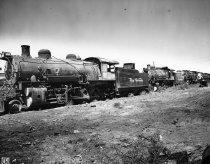 Image of Rio Grande locomotives