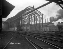 Image of Boiler house during construction.