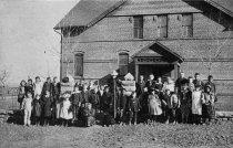 Image of Public school, Sopris, Colorado. Camp and Plant Vol. 4 No. 24