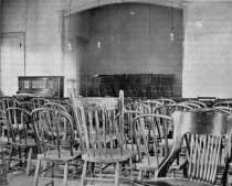 Image of View of part of the interior of Harmony Hall at Starkville. Camp and Plant