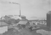 Image of 1994.018.002 - Burk Shingle Mill, 1911