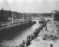 Image of Opening of Locks 8-3-1916