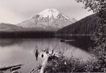 Image of Mt. St. Helens prior to 1980