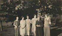 Image of Rowland family women