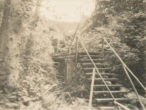 Image of wooden stairs