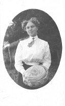 Image of Postcard of woman