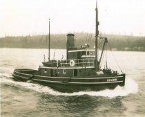 Image of Gilkey tugboat, SOUND
