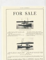 Image of 2000.017.009 - Sale notice for BEATRICE BAER and COAST
