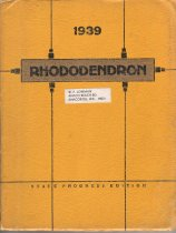 Image of AHS yearbook - RHODODENDRON - 1939