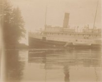 Image of SS KULSHAN on rocks - Ben Ure Island