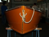 Image of Rickaby Skiff at the Maritime Heritage Center
