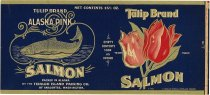 Image of Tulip Brand; salmon label