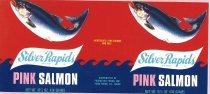 Image of Silver Rapids Brand; salmon label