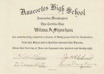 Image of 2001.085.002.A,B,C - Diploma