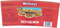 Image of Whitney's Red Salmon packed by Farwest Fisheries