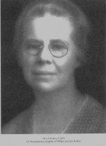 Image of 1928  Dr. Minnie Burdon