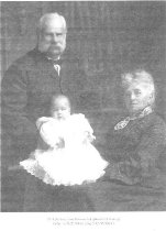 Image of William and Jane Burdon and grandson Harry Gillespie