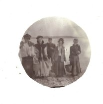 Image of Women on the beach