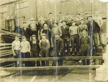 Image of Corbett Shingle Mill workers