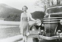 Image of 2002.124.001 - Merna Moen Keller by 1936 Ford