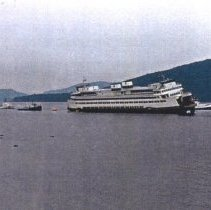 Image of Ferry HYAK @ Shannon Point