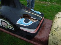 Image of .008  Paul Luvera Totem removal