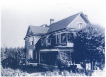 Image of Melville Curtis house 1910 c.