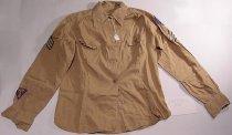Image of WAC tan shirt