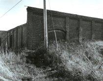 Image of .006 (APX 5) Close up of northwest corner; door on west side