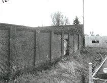 Image of .028 North wall with bracing