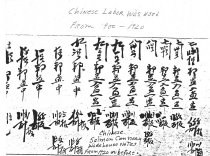 Image of Chinese Salmon Cannery Warehouse notes