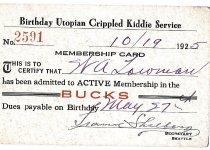 Image of 2005.020.027 - Membership card