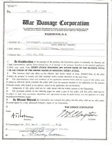Image of War Damage Corporation