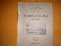 Image of .025 Motorboat Operator's Manual
