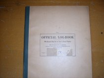 Image of .028 Official Logbook, Merchant Marine of the US
