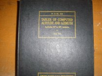 Image of .042 Tables of Comptued Atlitude, Vol. VI