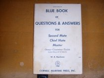 Image of .005 Blue Book of Questions & Answers for Second Mates