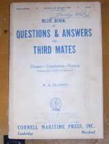 Image of .006 Blue Book of Questions & Answers for Third Mates
