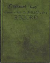 Image of Firemen's Log: RECORD (June 1976-Aug 1977)
