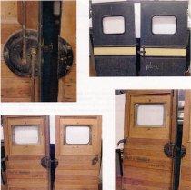 Image of Model AA ford panel truck door