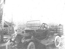 Image of Bill Bessner in 1911 Ford Torpedo