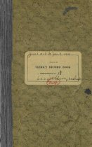 Image of 2006.27.009 Record Book