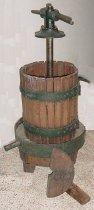 Image of Oak wine press