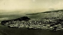 Image of Aerial of Anacortes 1943