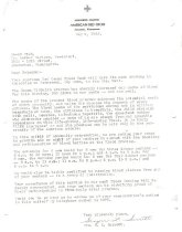 Image of Letter to Art Carlson